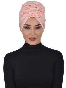 Kerstin Dusty Pink Cotton Turban Ayse Turban 324804a