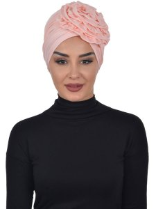 Kerstin Dusty Pink Cotton Turban Ayse Turban 324804b