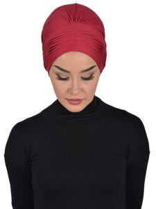 Linda Bordeaux Cotton Turban Ayse Turban 321907a