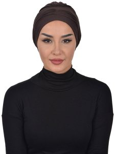 Linda Brown Cotton Turban Ayse Turban 321909a