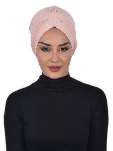 Linda Dusty Pink Cotton Turban Ayse Turban 321904a