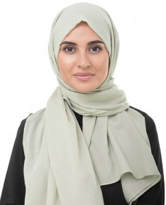 Nomad Sand Bomull Voile Hijab InEssence Sjal 5TA72a
