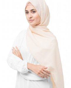 Nude - Powder Cotton Voile Hijab 5TB31a