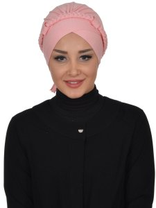 Olivia Gammelrosa Bomull Turban Cancer Krebs Ayse Turban 321007-1