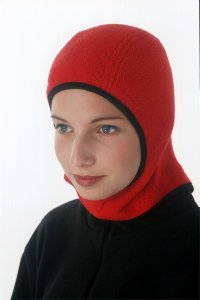 Outdoor - Red Winter Hijab from Capsters