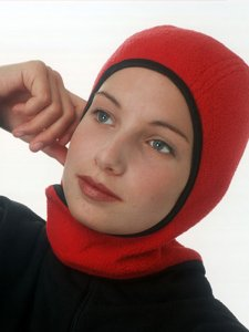 Outdoor Red Winter Hijab from Capsters