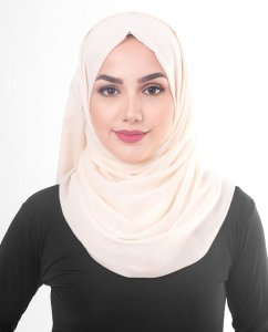 Pale Dogwood - Powder Cotton Voile Hijab 5TA82a