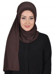 Pia Brown Practical Hijab Ayse Turban 321408a