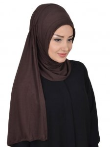 Pia Brown Practical Hijab Ayse Turban 321408b