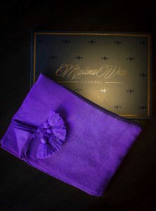 Queen Dark Purple Hijab Muslima Wear 310115b