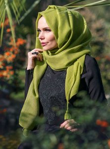 Queen Olive Hijab Muslima Wear 310104a