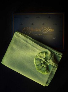 Queen Olive Hijab Muslima Wear 310104b