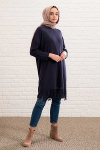 River - Navy Blue Tuniq - Lysa Studio