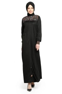 Selda - Black Abaya - Miss Halima