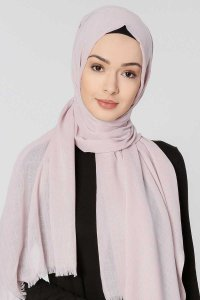 Selma Powder Plain Color Hijab Gülsoy 300225a