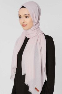Selma Powder Plain Color Hijab Gülsoy 300225b