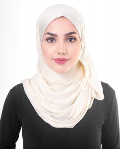 Sheer Pink - Powder Viscose Jersey Hijab 5VA70a
