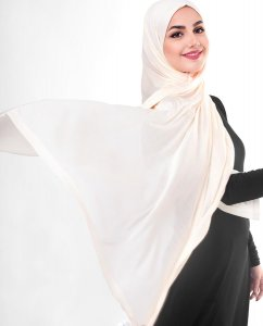 Sheer Pink - Powder Viscose Jersey Hijab 5VA70b