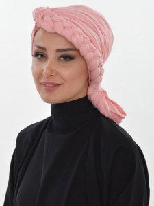 Theresa Dusty Pink Turban Ayse Turban 324207a