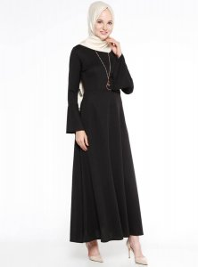 Yildiz Black Dress Miss Cazibe 251171a