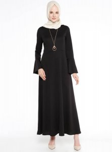 Yildiz Black Dress Miss Cazibe 251171b