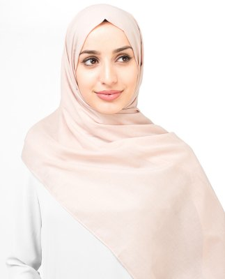 Cameo Rose - Gammelrosa Bomull Voile Hijab Sjal InEssence Ayisah 5TA47a