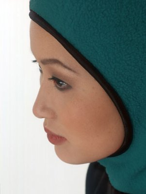 Outdoor - Petrol Vinter Hijab från Capsters
