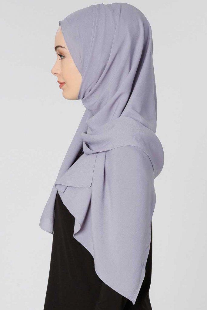 Ayla - Grå Chiffon Hijab Från Gülsoy - Köp Online Hos Ayisah 3ce2cee864a60