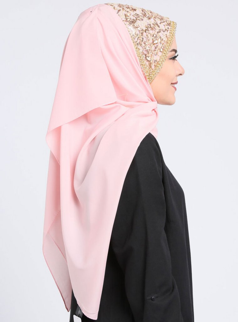 Esmeray - Dusty Pink chiffon hijab from Gülsoy at Ayisah.com 9389abaeb110b